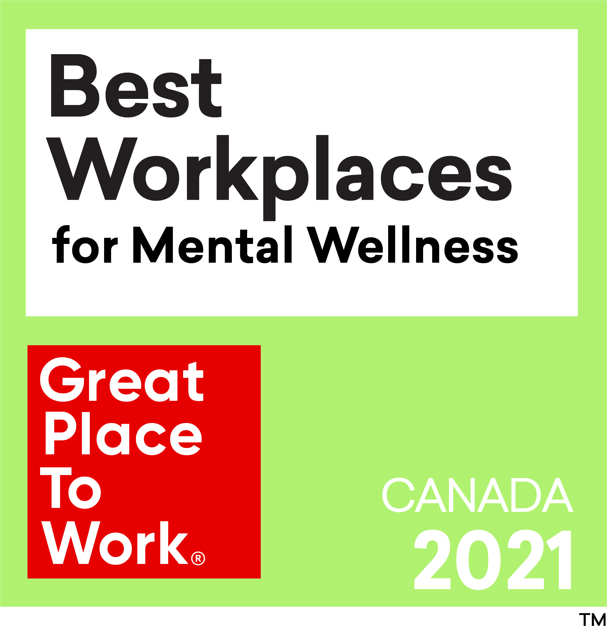 Best_Workplaces for Mental Wellness 2021