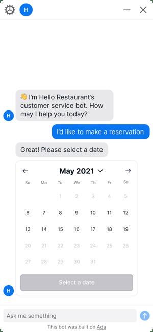 Date Picker App