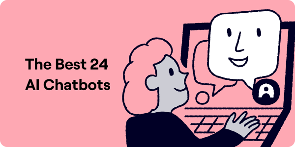Ai Chatbot Top 24 Illustration