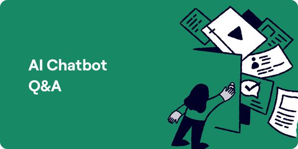 AI Chatbot FAQ Illustration