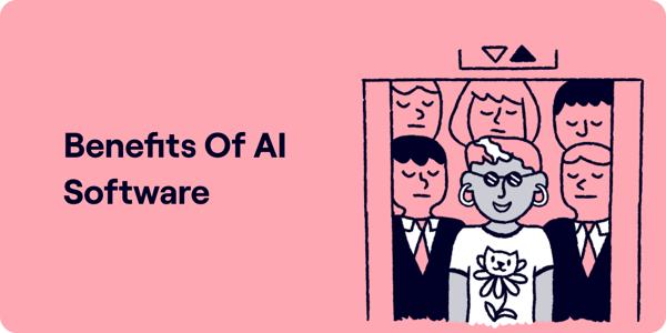 Benefits of AI Software Illustration