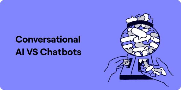 Conversational AI vs Chatbots Diagram