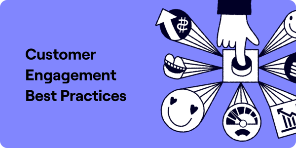 Customer engagement best practices Illustration
