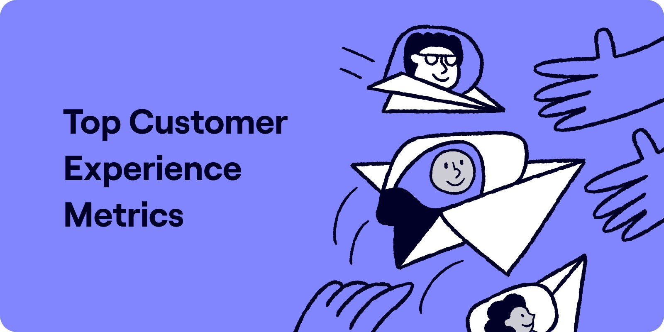 Customer experience metrics and measurement Illustration