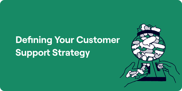 Key Features for your Customer Support Strategy Illustration