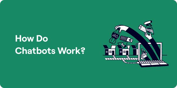 How do chatbots work Illustration