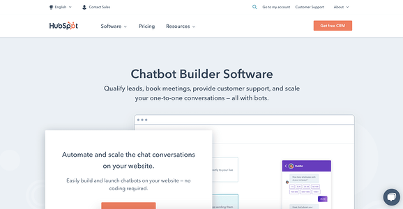 Hubspot Chatbot Illustration