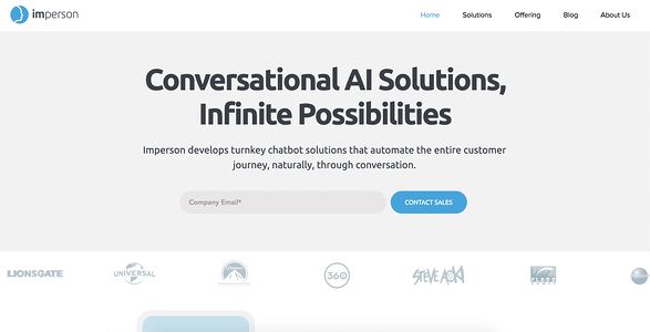 Imperson AI Chatbot Illustration