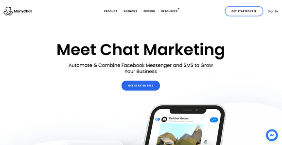 ManyChat AI Chatbot Illustration