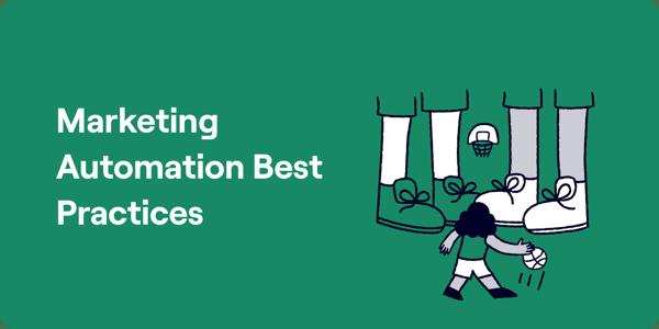 Marketing automation best practices Illustration