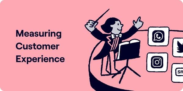 Measuring customer experience Illustration