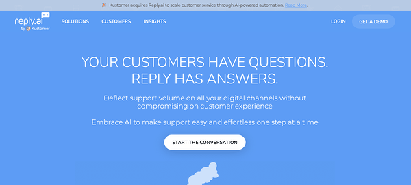 Reply.ai AI Chatbot Illustration