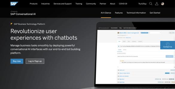 SAP AI Chatbot Illustration