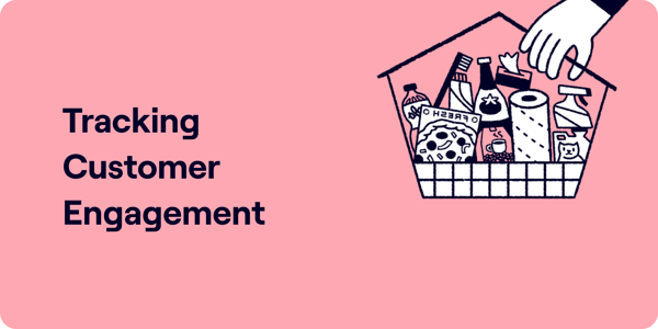 How to track customer engagement Illustration