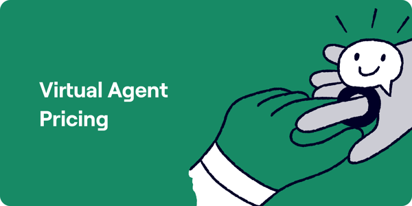 Virtual Agent Pricing Illustration