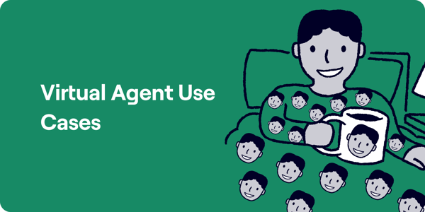 Virtual Agent Use Cases Diagram