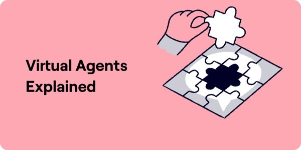 Virtual Agents Explained Illustration