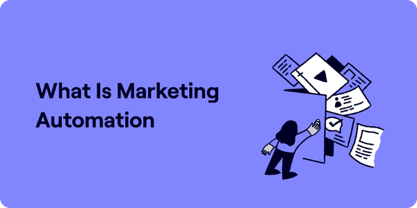 What is marketing automation Illustration