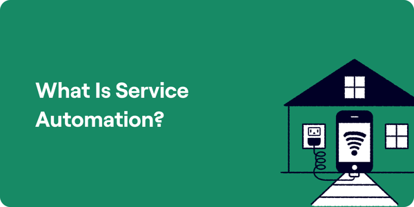 What is service automation illustration