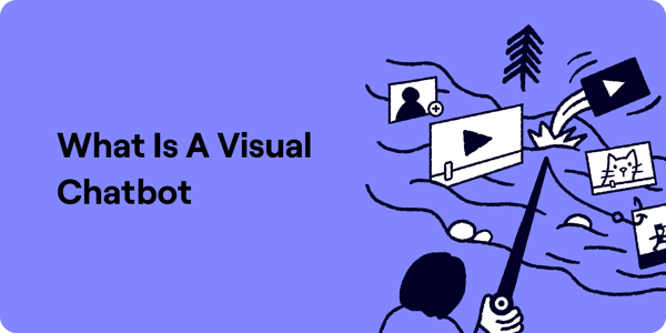 What is a visual chatbot illustration