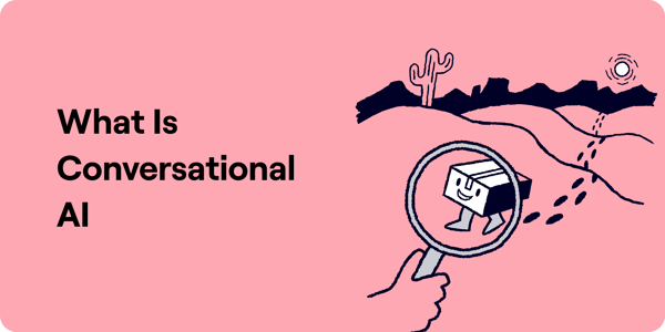 What is conversational AI Illustration