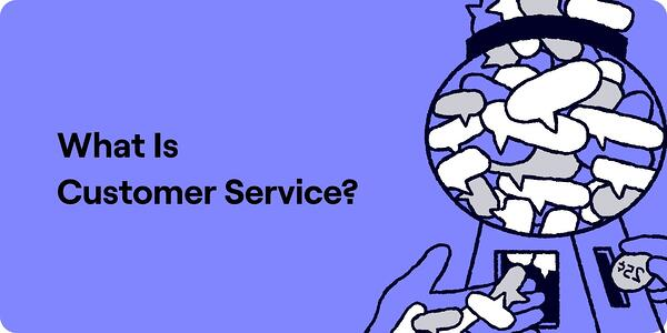 What is customer service illustration