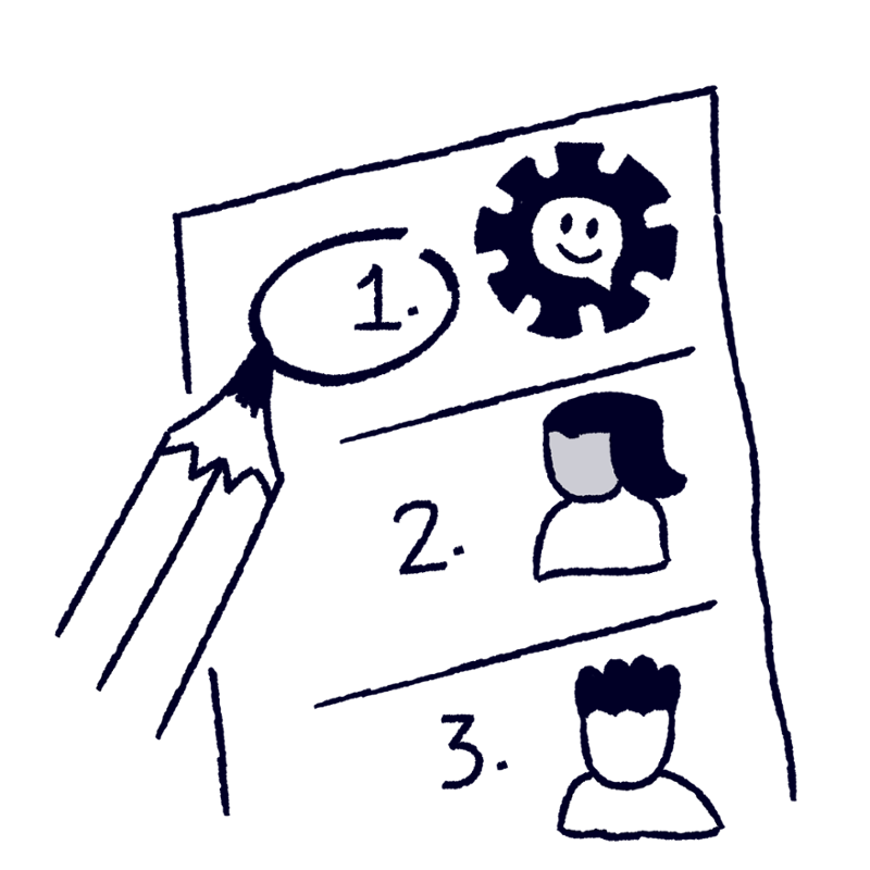 Go automation first -- resize